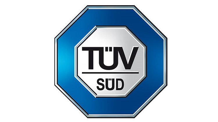 Prüfzeichen TÜV Süd